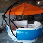 قایق تفریحی سایبان دار