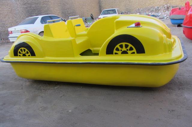 قایق پدالی چهارنفره فولکسی