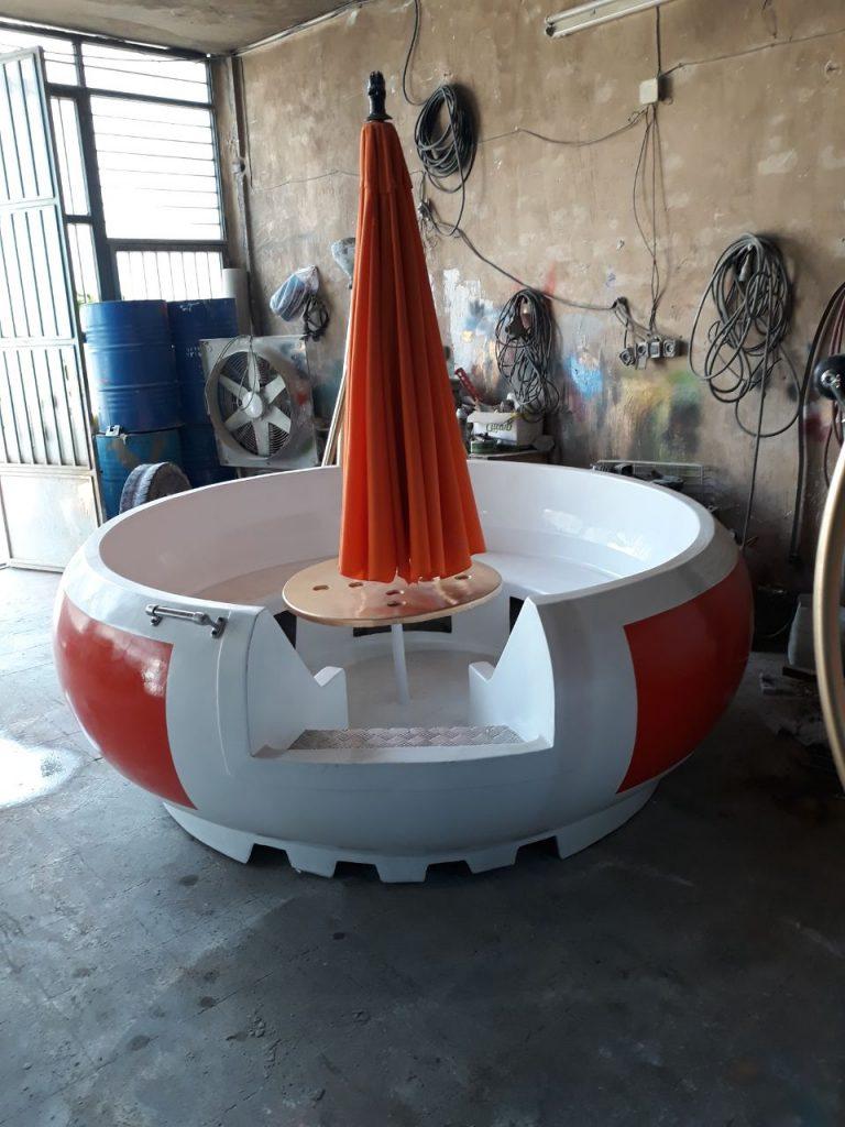 قایق موتوری تفریحی زرین کار صفاهان