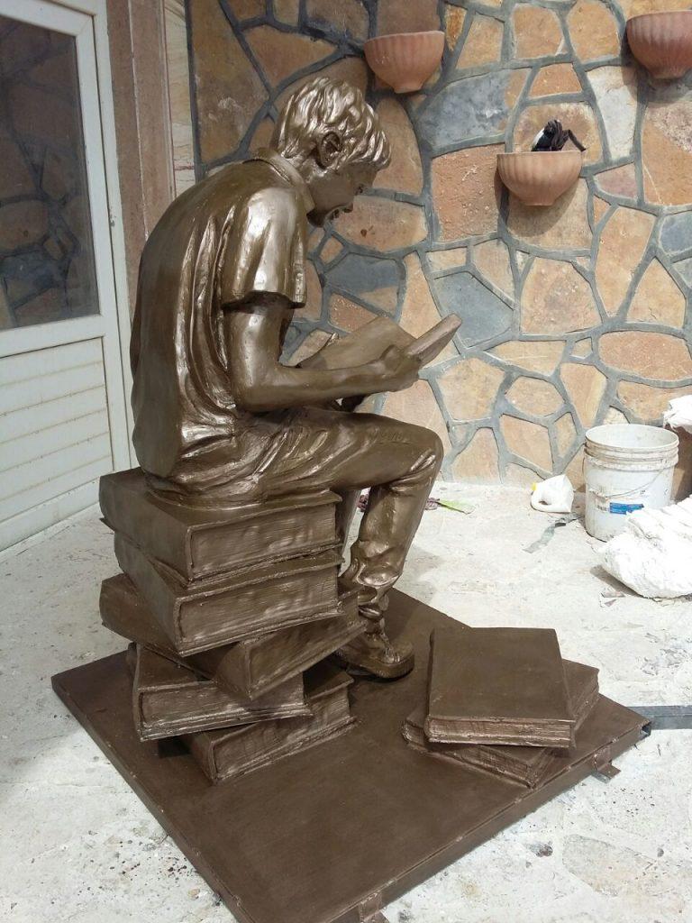 ساخت مجسمه های شهری فایبرگلاس