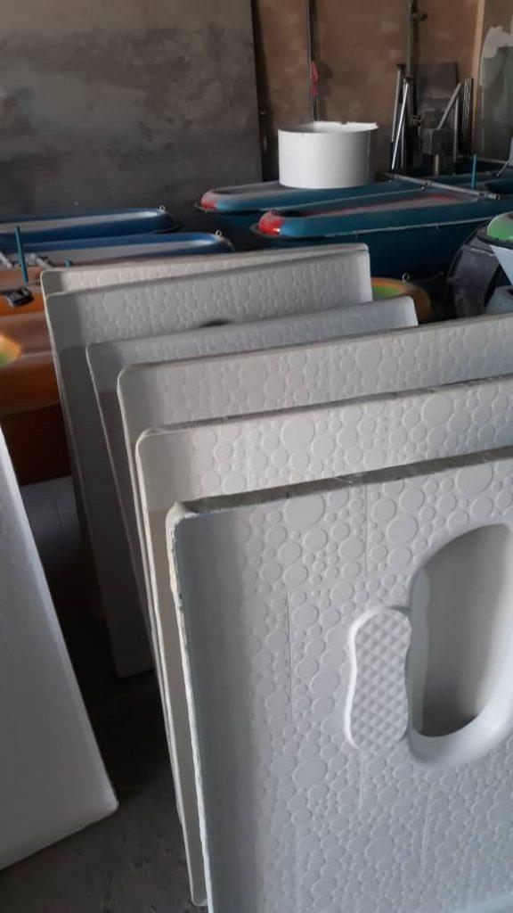 تولید و پخش کاسه توالت فایبرگلاس