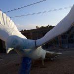 ساخت مجسمه های هنری و فرهنگی فایبرگلاس